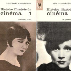 Histoire illustrée du cinéma Tome 1 & 2  – Le cinéma muet – Le cinéma parlant – Bibliothèque Marabout –