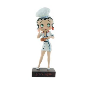 Figurine BettyBoop Chef Cuisinier – Collection N° 25 – M6 Intérations