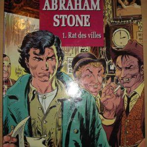 Abraham Stone Tome 1 : Rat des villes – Joe Kubert – Editions Glénat – E.O. – D.L. Février 1992 –