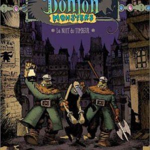 Donjon Monsters Tome 5 : La nuit du tombeur – J-E Vermot-Desroches – Joann Sfar – Lewis Trondheim – Editions Delcourt – E.O. 2003 –