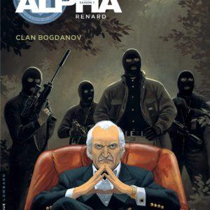 Alpha Tome 2 : Clan Bogdanov – Jigounov – Renard – Troisième vague – Editions du Lombard – Réédition sans date –