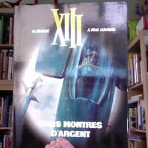 XIII Tome 11 – Trois montres d'argent – W. Vance & J. Van Hamme – Editions Dargaud –