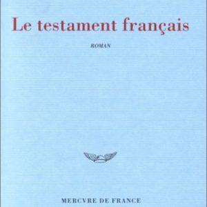 Le testament français – Andreï Makine – Editions Mercure de France – Prix Goncourt 1995 –