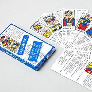 Jeu Taromantic – Jeu Divinatoire de 26 cartes du Tarot de Marseille – Éditions France Cartes