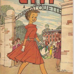 L'espiègle lili à Chantalouette – N° 25 – Texte de Paulette Blonay – illustrations d'Al. G. – E.O. 1962
