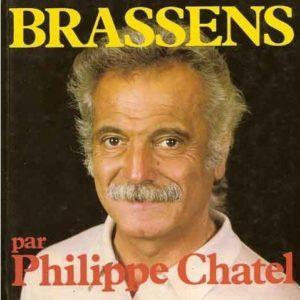 Brassens par Philippe Chatel – Le cherche midi éditeur –