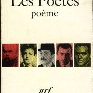 Les poètes poème – Aragon – NRF – Poésie Gallimard –