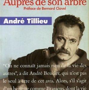 Georges Brassens – Auprès de son arbre – Préface de Bernard Clavel – André Tillieu – Presses Pocket –