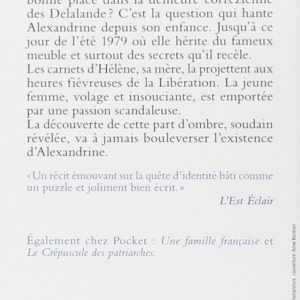 L'Armoire allemande  – Jean-Paul Malaval – Pocket –