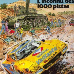 Michel Vaillant n° 37 : L'inconnu des 1000 pistes – Jean Graton – Éditions Fleurus – E.O. 1980 –