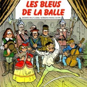 Les Tuniques Bleues n° 28 : Les Bleus de la Balle – Lambil/Cauvin – Éditions Dupuis – E.O. 1988 –