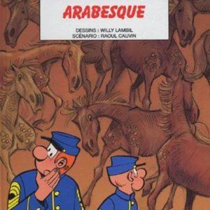 Les Tuniques Bleues n° 48 : Arabesque – Lambil/Cauvin – Éditions Dupuis – E.O. 2005 –