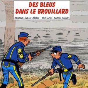 Les Tuniques Bleues n° 52 : Des bleus dans le brouillard – Lambil/Cauvin – Éditions Dupuis – E.O. 2008 –