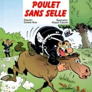 L'agent 212 n° 17 : Poulet sans selle – Daniel Kox/Raoul Cauvin – Éditions Dupuis –