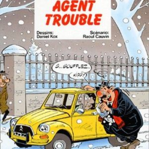L'agent 212 n° 10 : Agent trouble – Daniel Kox/Raoul Cauvin – Éditions Dupuis –