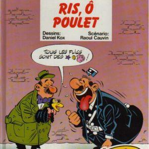 L'agent 212 n° 12 : Ris, Ô poulet – Daniel Kox/Raoul Cauvin – Éditions Dupuis –