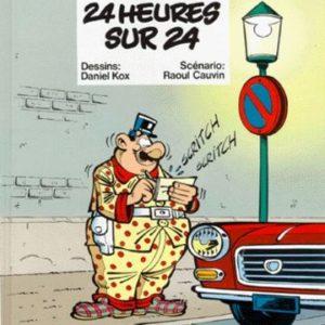 L'agent 212 N° 1 : 24 heures sur 24 – Dessins : Daniel Kox/ Scénario : Raoul Cauvin – Éditions Dupuis