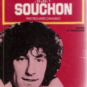 Alain Souchon par Richard Cannavo – Poésie & Chansons – Éditions Seghers –