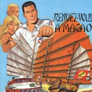 Michel Vaillant n° 43 : Rendez-vous à Macao – Jean Graton – Éditions Graton – 1983