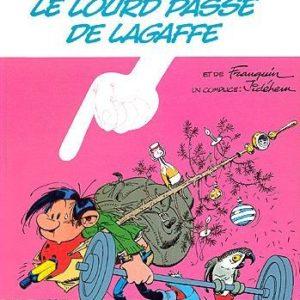 Gaston R5 : Le lourd passé de Lagaffe – Franquin et un complice : Jidéhem – Éditions Dupuis – E.O. 1986 –
