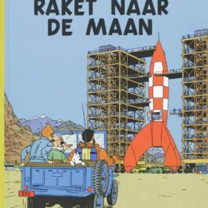 De avonturen van Kuifje – Raket Naar de Maan – Hergé – Casterman –