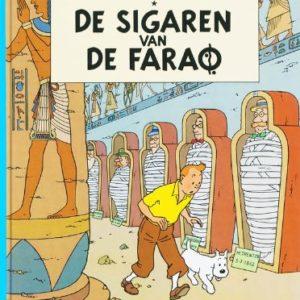 De Avonturen Van Kuifje – De Sigaren van de Farao – en Néerlandais – Hergé – Casterman –