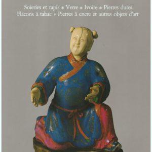 Arts de la Chine : Soieries et tapis, Verre, Ivoire, Pierres dures, Flacons à tabac, Pierre à encre et autres objets d'arts – Office du Livre –