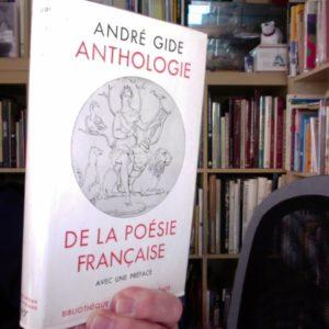 Anthologie de la poésie française – André Gide – Bibliothèque de la pléiade – NRF – 1949 –