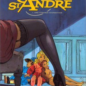 Gil Saint André Tome 1 Une étrange disparition – Jean-Charles Kraehn – Éditions Glénat –
