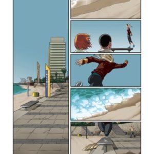 En sautant dans le vide Tome 2 : L'orage approche – Man – Editions Dargaud –