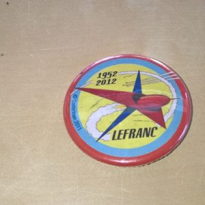 Badge Lefranc 1952-2012 – Casterman –