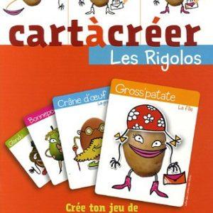Cartàcréer : Les rigolos – Crée ton jeu de 7  familles 100 % perso ! Le Petit Musc –