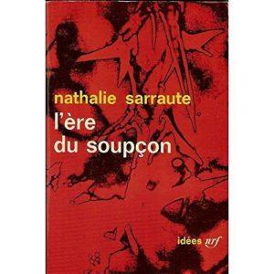 L'ère du soupçon – Nathalie Sarraute – Collection Idées – NRF –