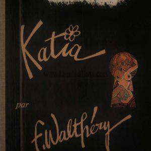 Katia Par F. Walthéry – Cabaret – Éditions Khani – Portfolio numéroté & signé  248/500 –