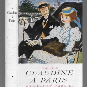 Claudine à Paris – Colette – Collection Pourpre – Éditions Albin Michel – 1950 –