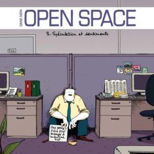 Dans mon open space Tome 3 : Spéculation et sentiments – James – Couleur : Patrice Larcenet – Poisson pilote –