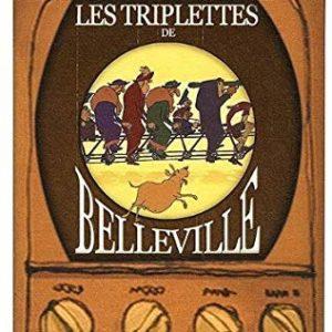 Les triplettes de Belleville – DVD Jeunesse – un film de Sylvain Chomet musique de Ben Charest – Durée 1h20 –