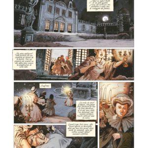 Liaisons dangereuses préliminaires – Tome 1 : L'espoir et la vanité – Stéphane Betbeder & Djief – Éditions Glénat – DL Octobre 2017 –