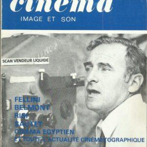 La revue du cinéma image et son : Fellini – Belmont – Risi – Sautet – Cinéma Egyptien et toute l'actualité cinématographique N° 290 Novembre 1974 –