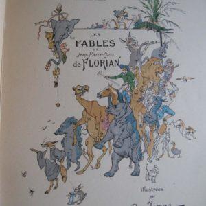 Les Fables de Jean-Pierre-Claris de Florian illustrées par A. Vimar – Henri Laurens, éditeur 1932 –