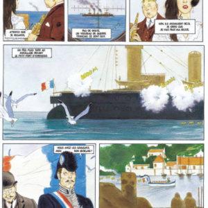 Hyrknoss Tome 1 : Vive la France – Arinouchkine & Froideval – Ligne Rouge – Casterman –
