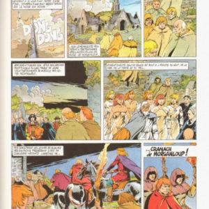 Cranach de Morganloup : Le voyageur des portes – Convard – Vernal – Éditions du Lombard – E.O. 1987 –