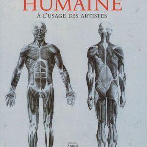 Anatomie Humaine à l'usage des artistes – Dessins de Andras Szunyoghy – Textes de Dr György Fehér – Könemann –