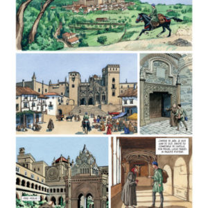 A la recherche de la licorne – Intégrale – Mirallès – Ruiz – Dargaud – E.O. 2008 –