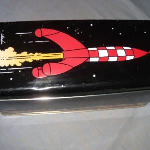 Boite à gâteaux Métallique Delacre Tintin Hergé – Série 2007 – Édition limitée – Boîte numérotée 1616 –