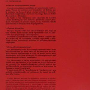 Psychologie – Maurice Reuchlin – Puf Fondamental –