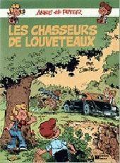 Anne et Peter Tome 4 : Les chasseurs de louveteaux – Jean-Pol – Éditions Fleurus – 1ère Édition – D.L. Septembre 1986 –