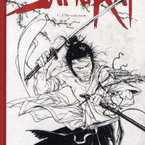 Samurai Tome 5 : L'île sans nom – Di Giorgio – Genêt – Tirage de luxe non numéroté, non signé N & B – Spécial Angoulême 2010 – D.L. Janvier 2010 –
