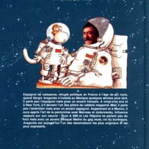 Buzz & Bell Tome 2 : Planètes pas nettes – Aragonés – Éditions Dupuis – DL Novembre 1991 – E.O.
