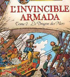 Cori le moussaillon, l'invincible armada Tome 2 : Le Dragon des Mers – Bob de Moor – Casterman – E.O. 1980 – D.L. 4ème trimestre 1980 –